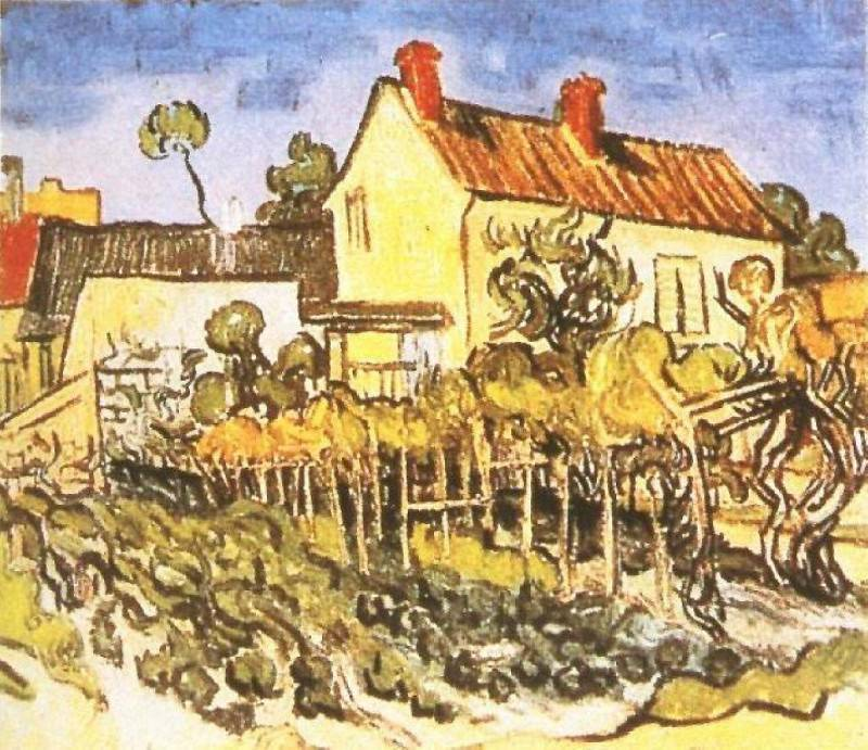 The House of Pere Eloi. Vincent van Gogh
