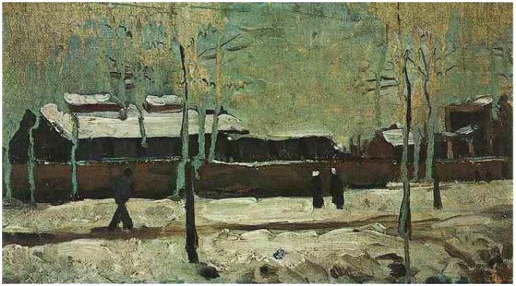 The Old Station at Eindhoven. Vincent van Gogh