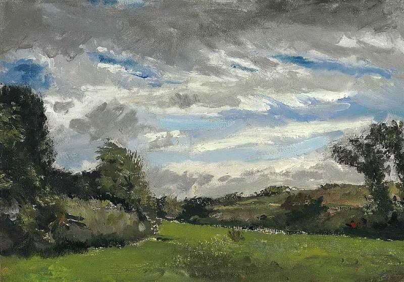 Landscape with Dunes. Vincent van Gogh