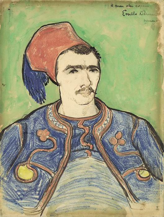 The Zouave. Vincent van Gogh