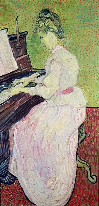 Marguerite Gachet at the Piano. Vincent van Gogh