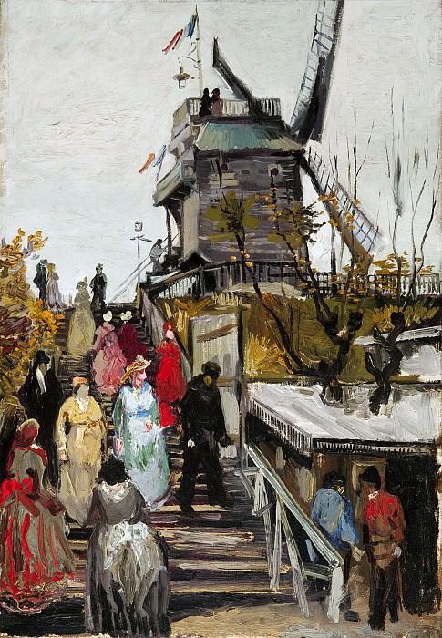 Blute-fin Mill. Vincent van Gogh