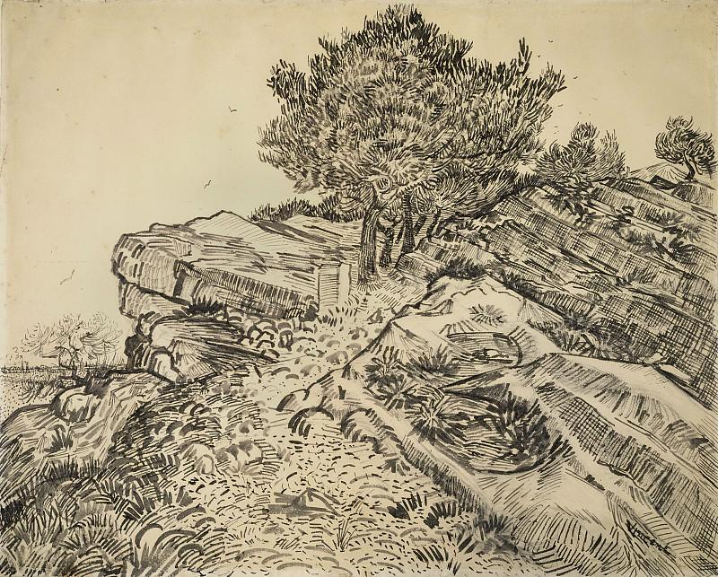 Montmajour. Vincent van Gogh
