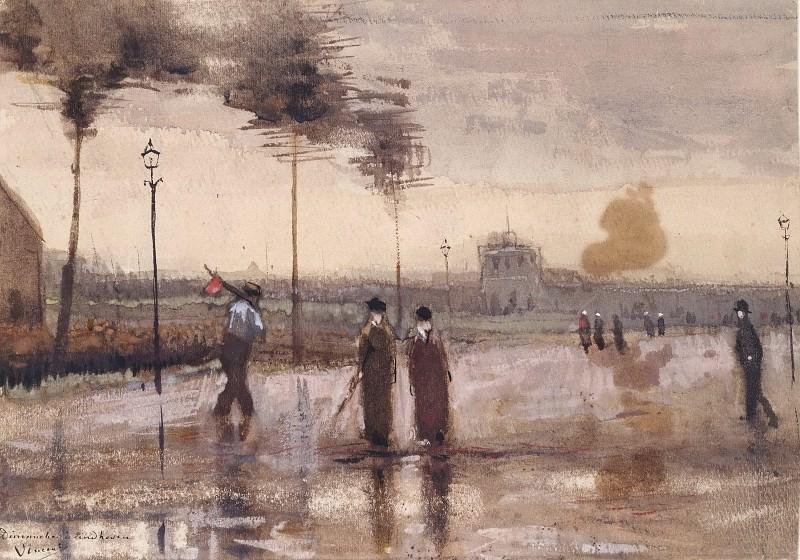 A Sunday in Eindhoven. Vincent van Gogh