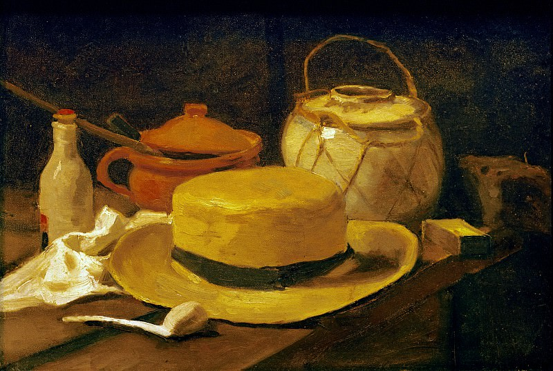 Still-life with straw hat. Vincent van Gogh