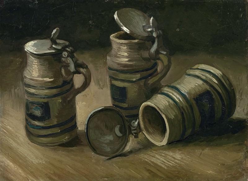 Beer Tankards. Vincent van Gogh