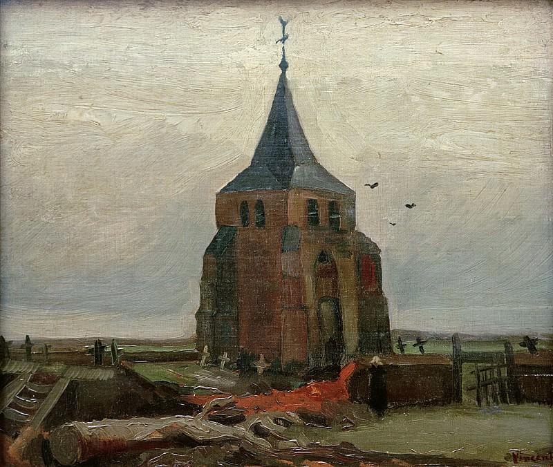 Старая церковь в Нейнене. Винсент Ван Гог
