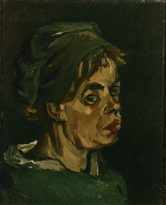 Голова женщины. Винсент Ван Гог