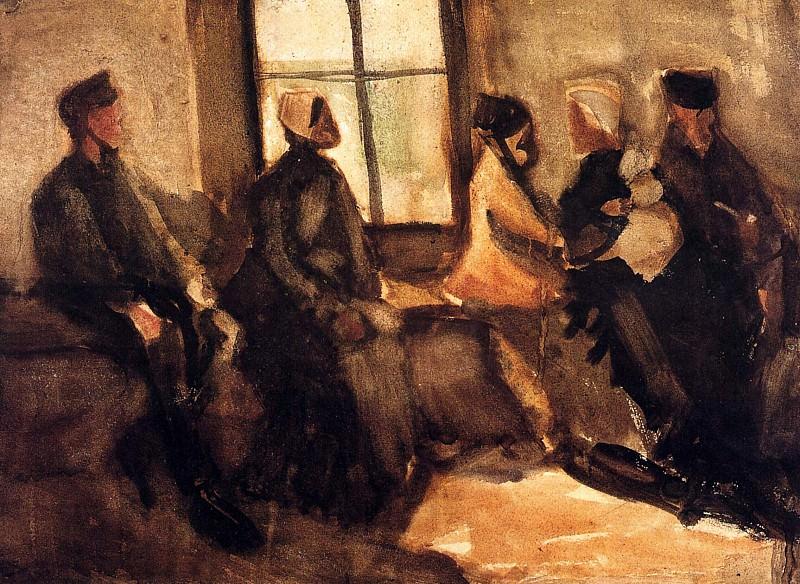 Waiting Room. Vincent van Gogh