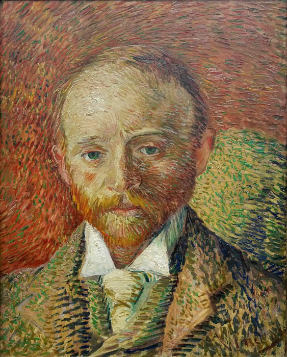 Portrait of the Art Dealer Alexander Reid. Vincent van Gogh