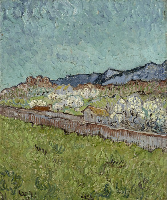 View of the Alpilles. Vincent van Gogh