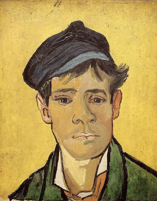 Young Man with a Cap. Vincent van Gogh