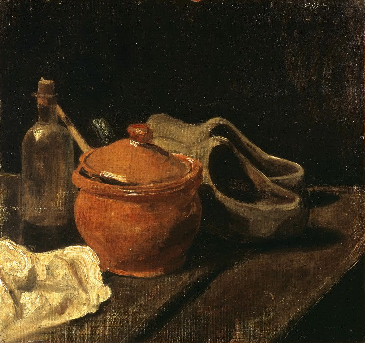 Still life with clogs. Vincent van Gogh