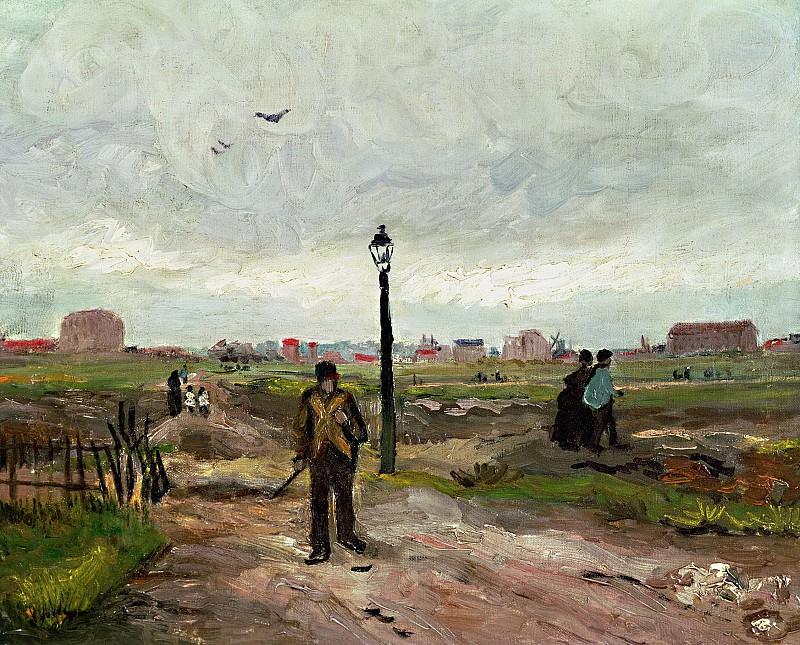Outskirts of Paris. Vincent van Gogh