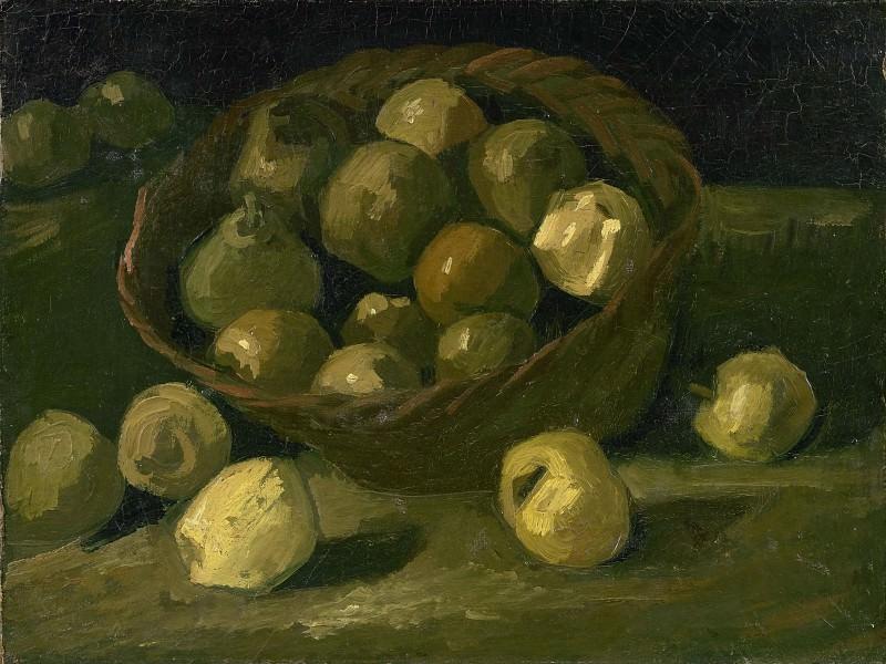 Basket of Apples. Vincent van Gogh