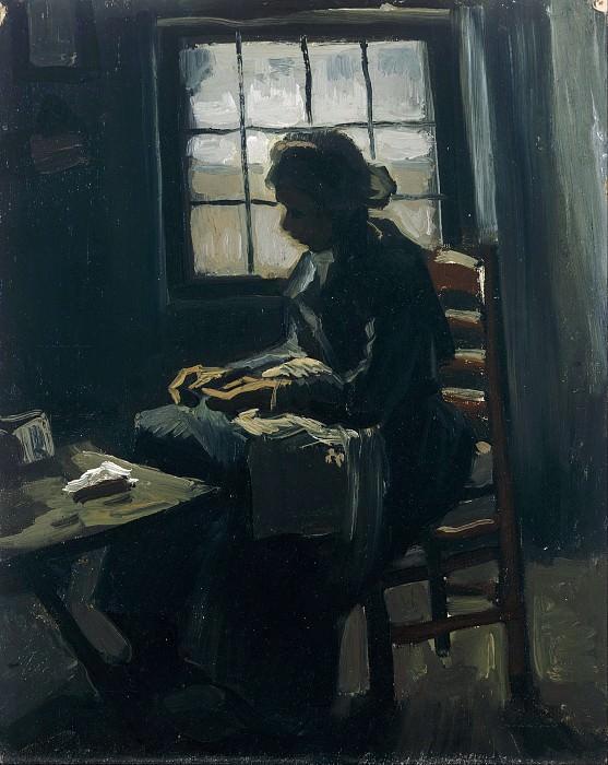 Woman sewing. Vincent van Gogh