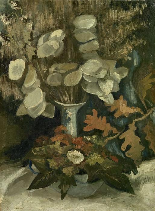 Vase with Honesty. Vincent van Gogh