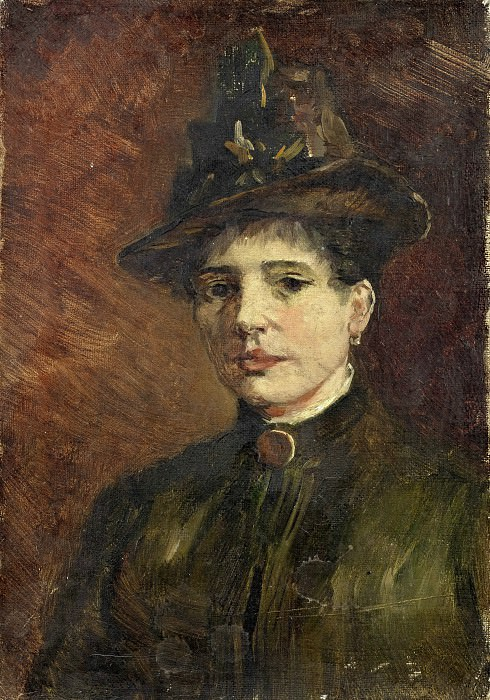 Portrait of a Woman. Vincent van Gogh