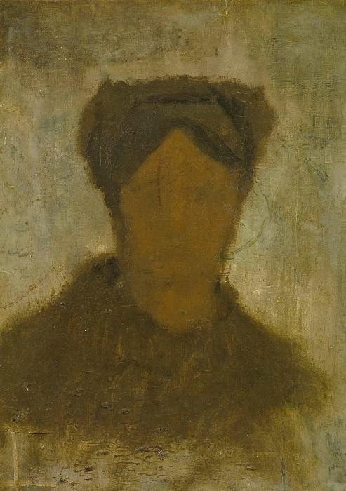 Head of a Woman. Vincent van Gogh