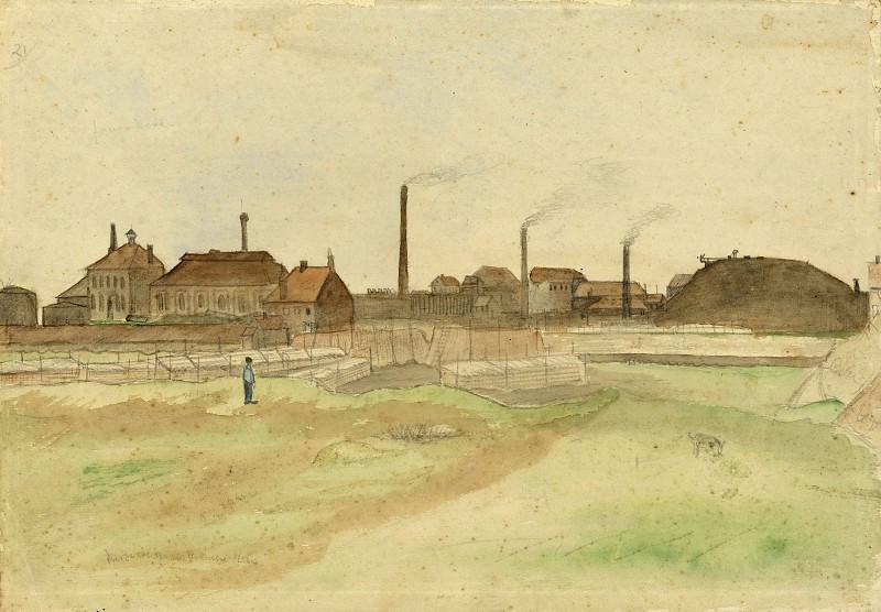 Coalmine in the Borinage. Vincent van Gogh