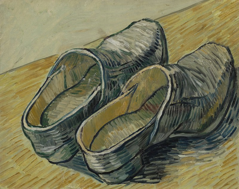 A Pair of Leather Clogs. Vincent van Gogh
