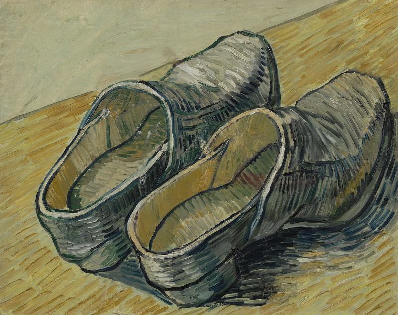 Пара кожаных башмаков. Винсент Ван Гог