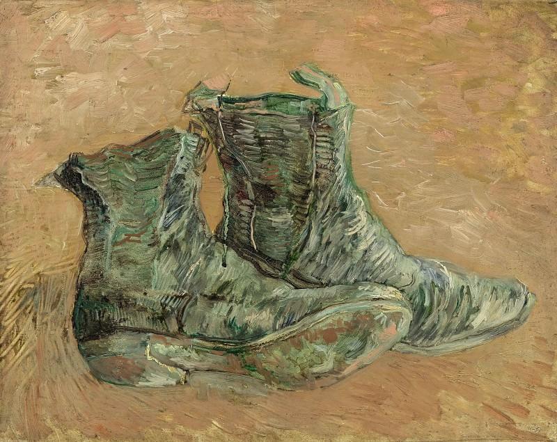 Shoes. Vincent van Gogh