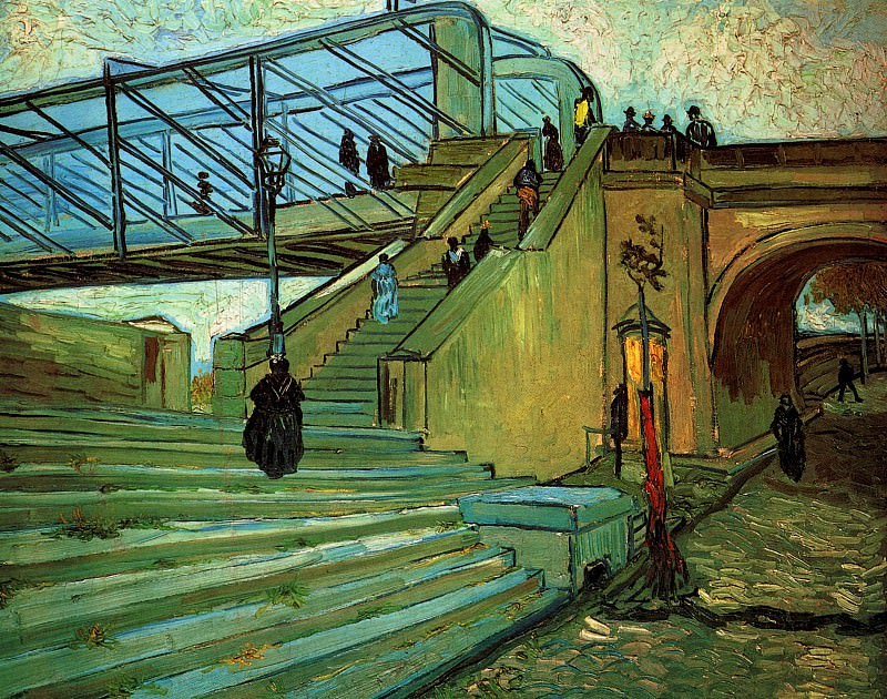 The Trinquetaille Bridge. Vincent van Gogh