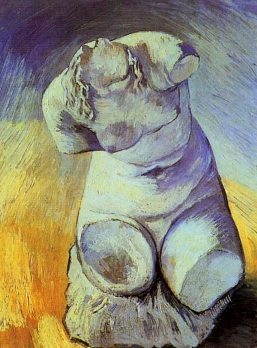 Plaster Statuette of a Female Torso. Vincent van Gogh