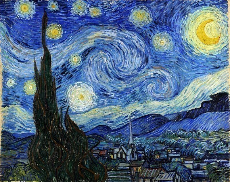 Starry Night. Vincent van Gogh