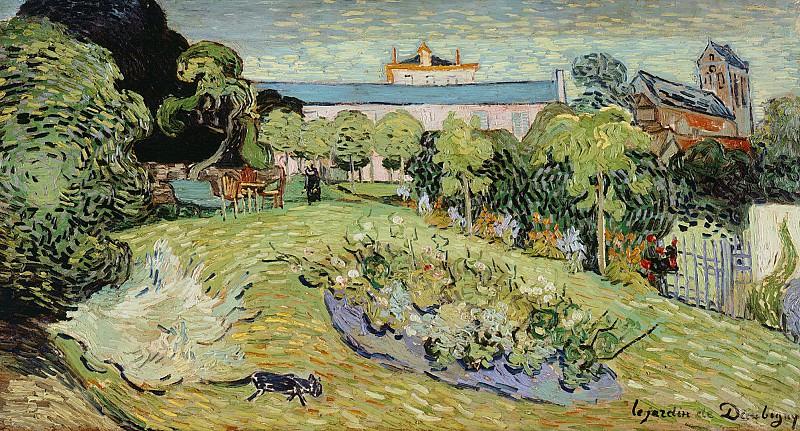 Daubignys Garden. Vincent van Gogh