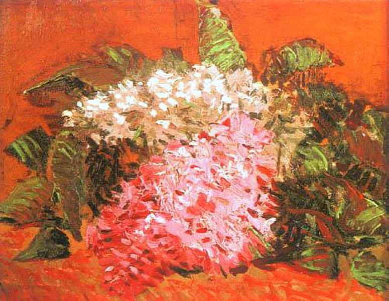 Lilacs. Vincent van Gogh