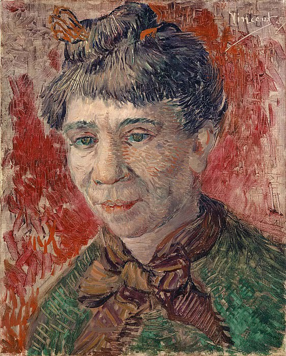 Female Head. Vincent van Gogh