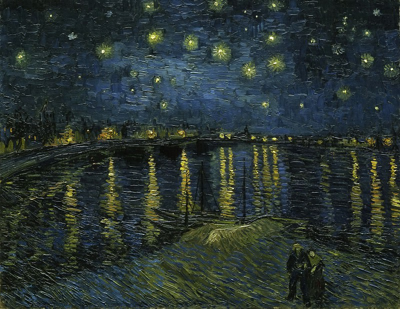 Starry Night. Vincent van Gogh