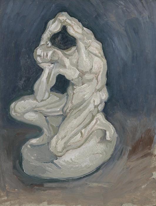 Plaster Statuette of a Kneeling Man. Vincent van Gogh