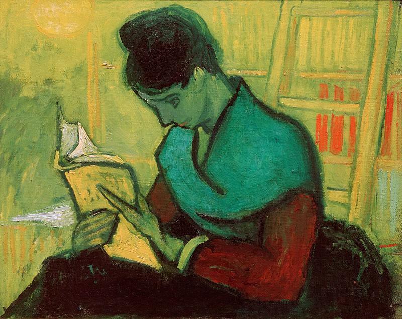 The Novel Reader. Vincent van Gogh