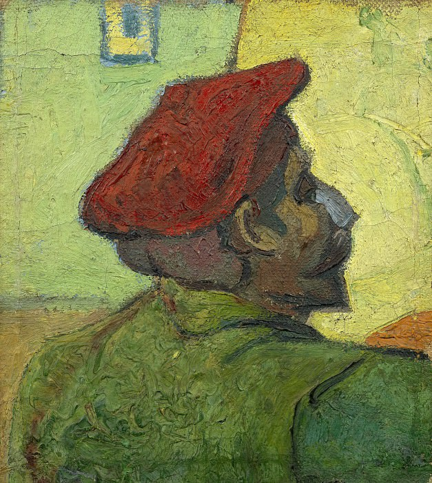 Paul Gauguin (Man in a Red Beret). Vincent van Gogh