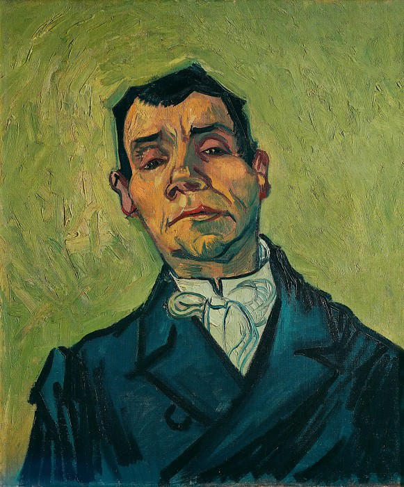 Portrait of Joseph-Michel Ginoux. Vincent van Gogh