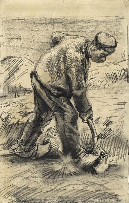 Digger. Vincent van Gogh