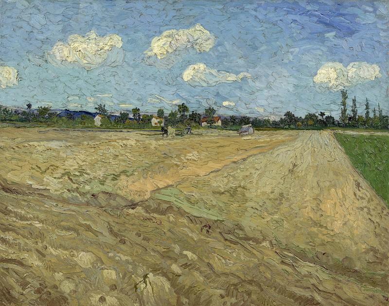 Ploughed Field. Vincent van Gogh