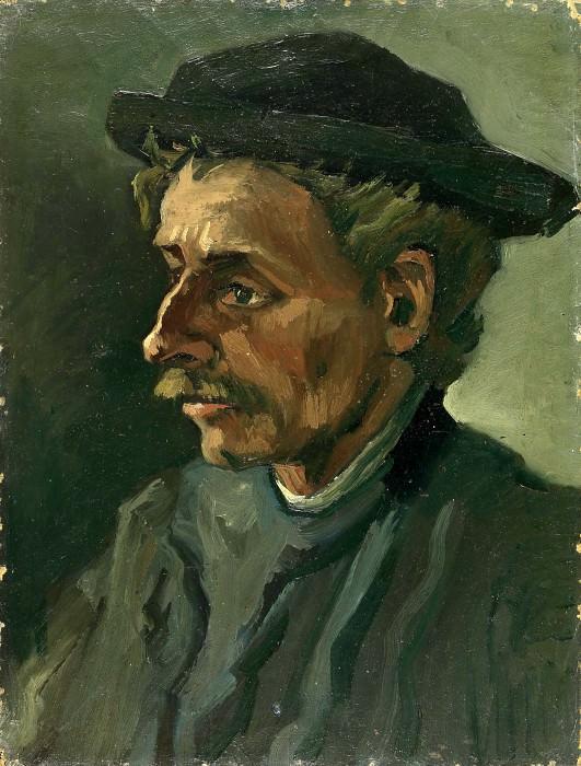 Head of a Man. Vincent van Gogh