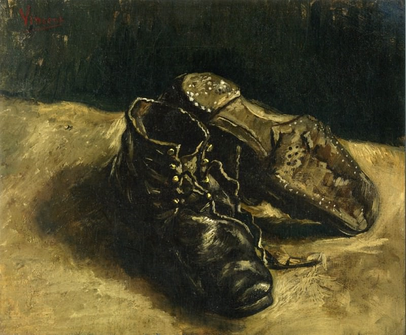 A Pair of Shoes. Vincent van Gogh