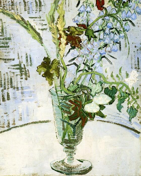 Цветы в вазе. Винсент Ван Гог