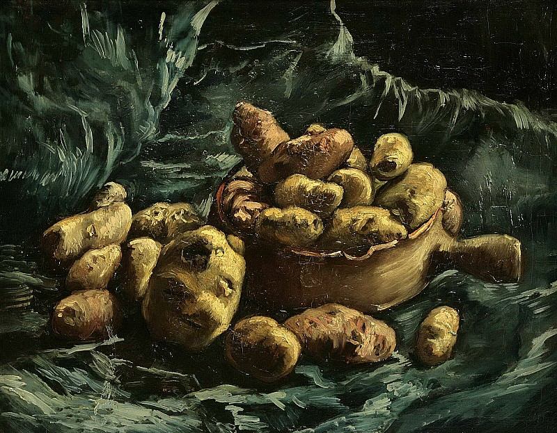 Still-life with potatoes. Vincent van Gogh