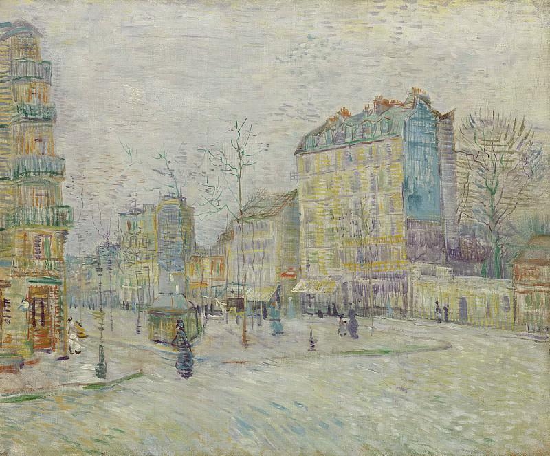Boulevard de Clichy. Vincent van Gogh