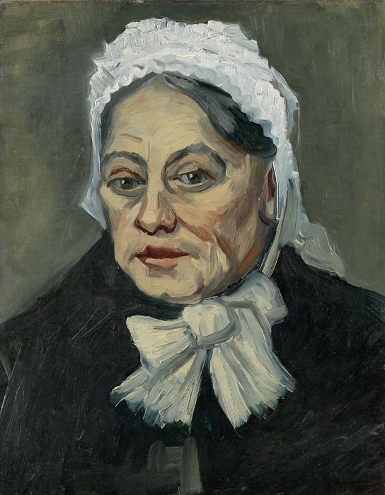 Portrait of an Old Woman. Vincent van Gogh