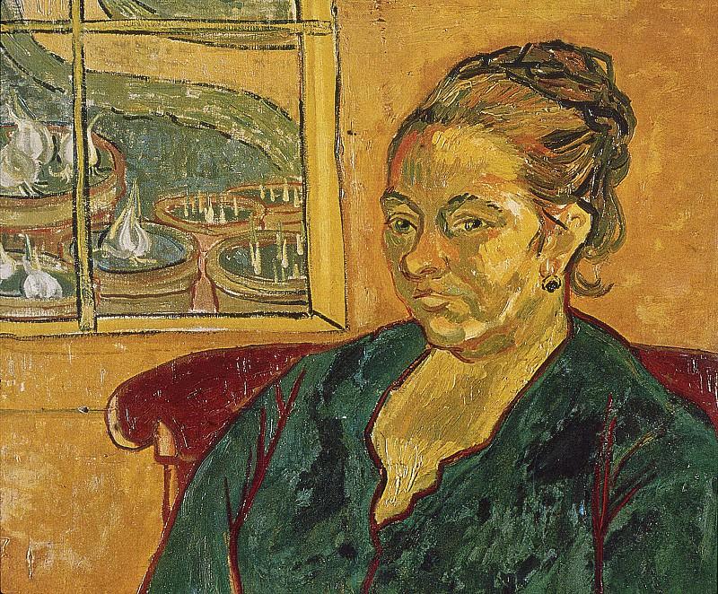Portrait of Augustine Roulin. Vincent van Gogh