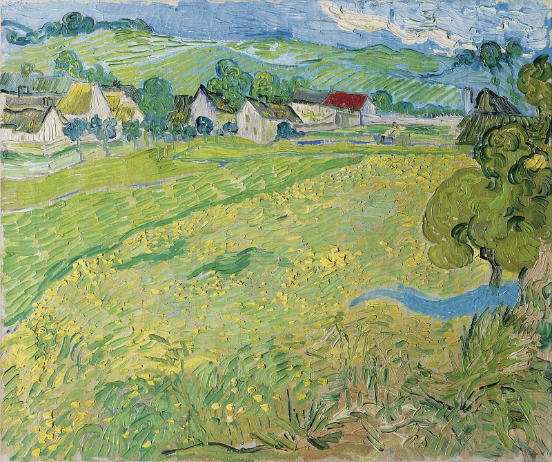View of Vessenots near Auvers. Vincent van Gogh