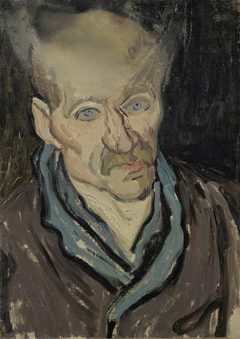 Portrait of a Patient in Saint-Paul Hospital. Vincent van Gogh