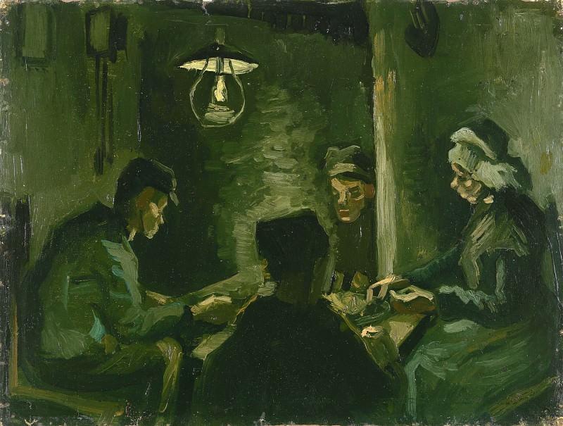 The Potato Eaters (Study). Vincent van Gogh